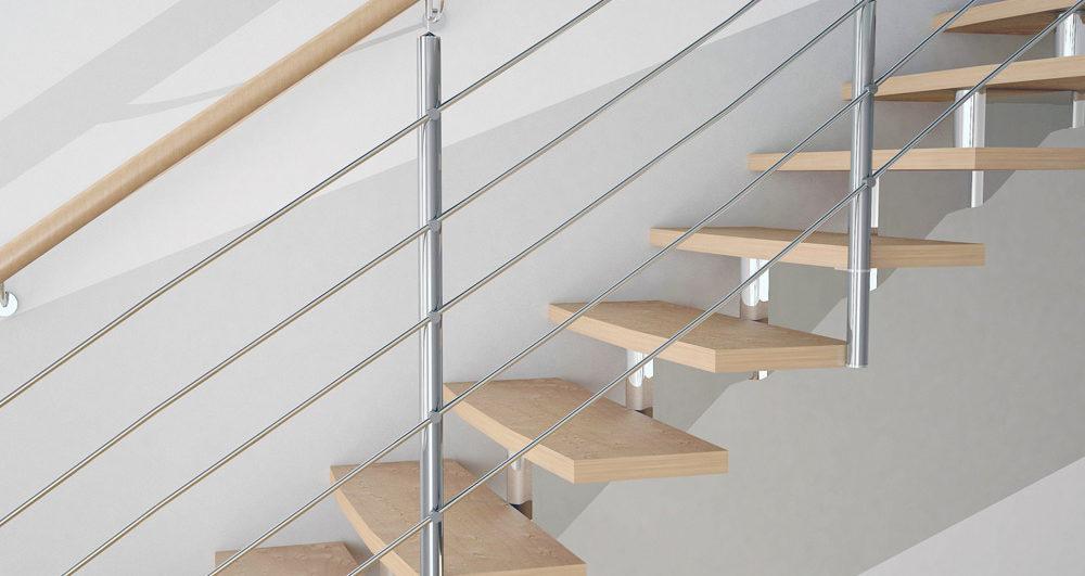 Treppenarten nach Treppenkonstruktion