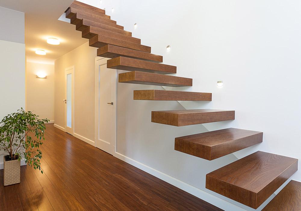 Ideale Konstruktion - freitragende Treppen