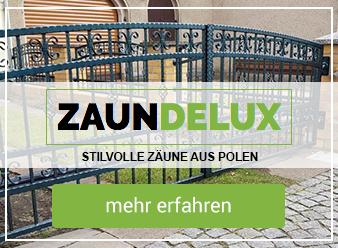 Zäune aus Polen - Zaundelux.de
