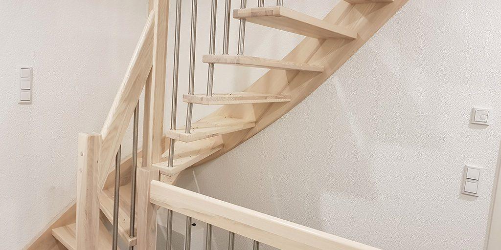Treppenverkleidung Aus Holz Fur Betontreppen Jk Holztreppen De